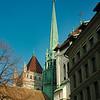 Old Town steeple, Geneva
