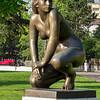 Sculpture in Lake Geneva Park