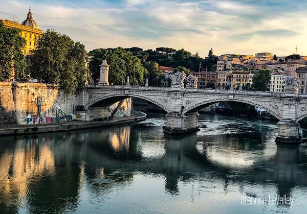 Tiber River in Rome