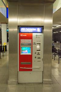 Ticket machine in Berlin Underground