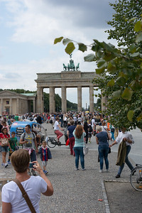 Brandenburg Gate (Brandenburger Tor), Berlin Germany - Former city gate, rebuilt in the late 18th century