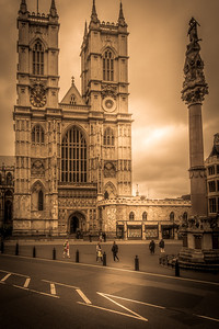 Westminster Abbey, formally titled the Collegiate Church of St Peter at Westminster, is a large, mainly Gothic, church in the City of Westminster, London