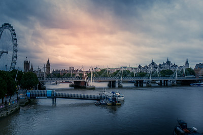 Water tours on the River thames LOndon England