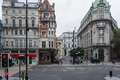 Gothic buildings in London Engalnd