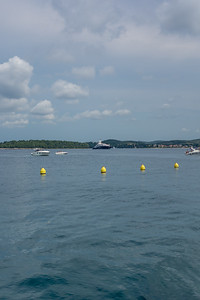 Rovinj harbour Photos with High Power III yacht