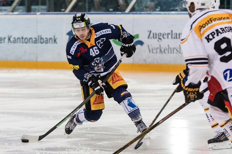 NLA Playoff 2015/16 - Der EV Zug verliert im ersten Playoff-Viertelfinalspiel gegen den HC Lugano 1:2 SO.