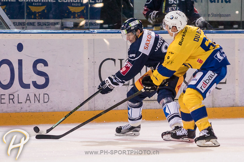 National League A: EV Zug - HC Davos - 2:1
