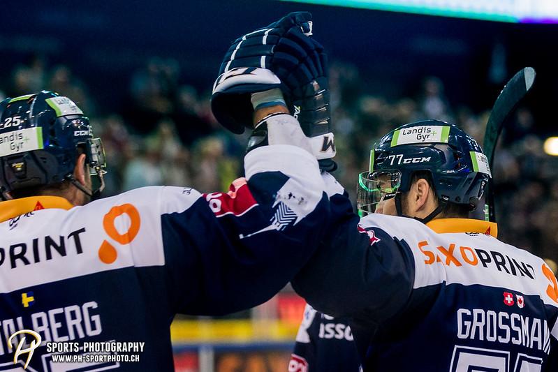 National League:  EV Zug - HC Davos - 5:1