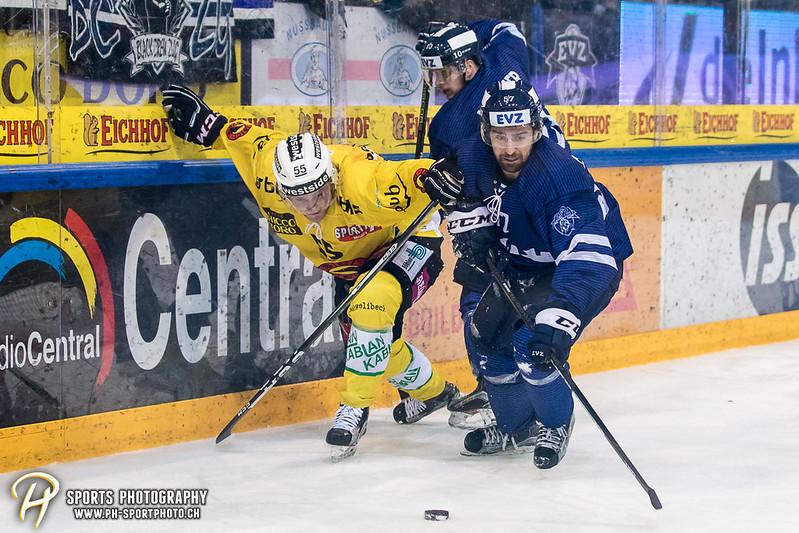 National League: EV Zug - SC Bern - 2:5