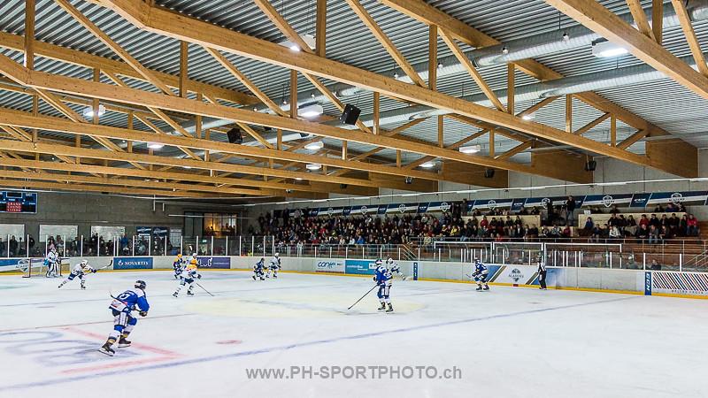 National League B: EVZ Academy - HC La Chaux-de-Fonds - 0:6