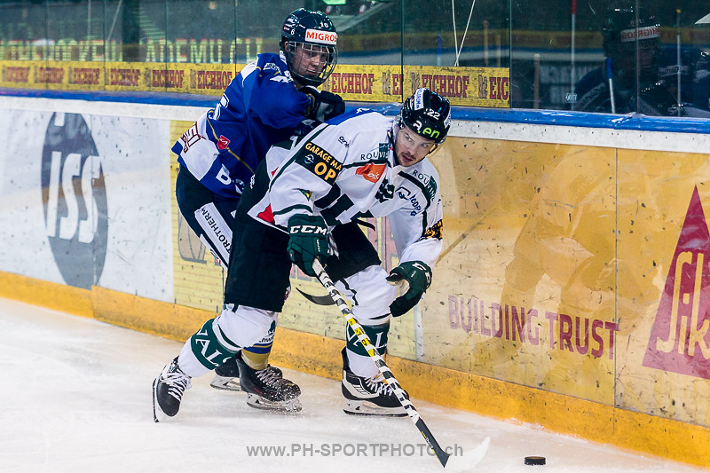 National League B: EVZ Academy - EHC Olten - 3:4 SO