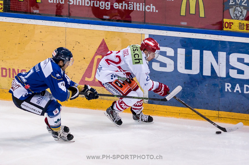 National League B: EVZ Academy - SC Rapperswil-Jona Lakers - 4:3