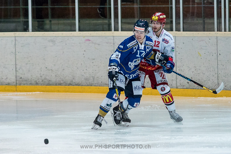 National League B: EVZ Academy - EHC Winterthur - 3:1