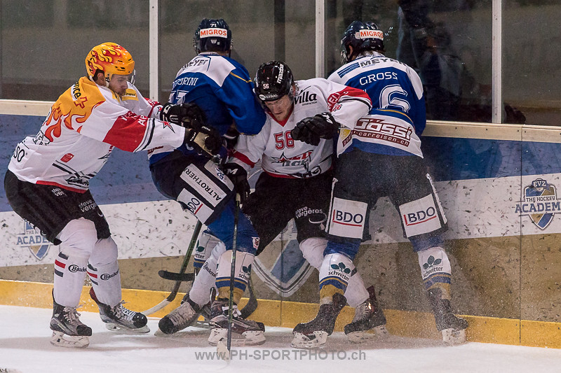National League B: EVZ Academy - HC Red Ice - 0:7