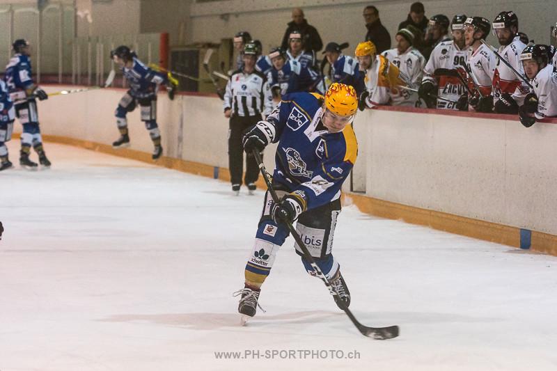 National League B: EVZ Academy - EHC Visp - 2:6