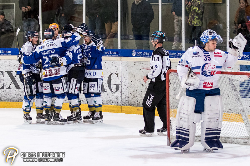 Swiss League: EVZ Academy - GCK Lions - 5:3