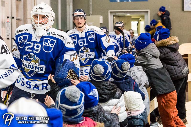 Swiss League: EVZ Academy - HC Thurgau - 2:4