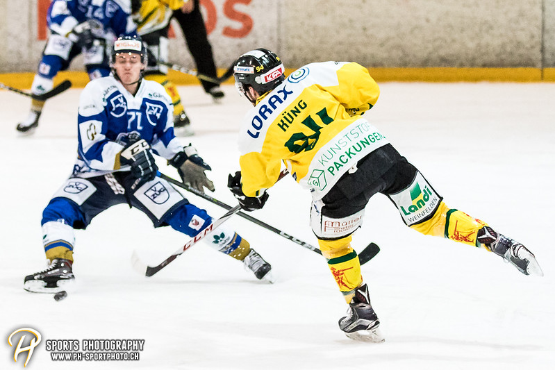 Swiss League: EVZ Academy - HC Thurgau - 2:4