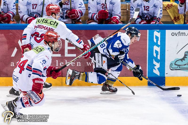 Swiss League: EVZ Academy - SC Rapperswil-Jona Lakers - 1:6