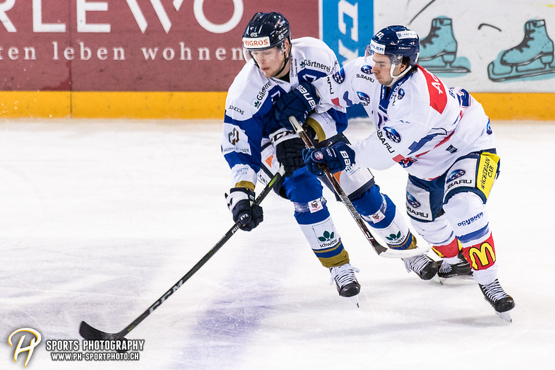 Swiss League: EVZ Academy - GCK Lions - 8:1
