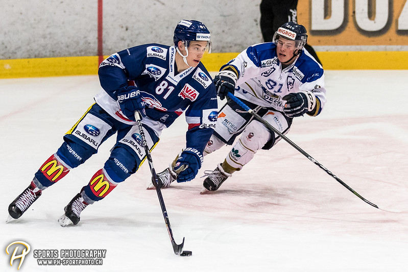 Swiss League: GCK Lions - EVZ Academy - 7:2