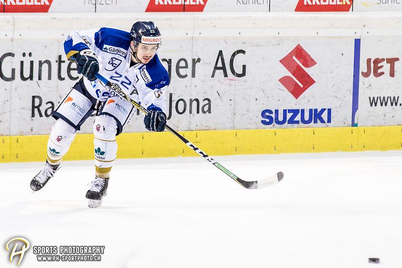 Swiss League Playoff - Viertelfinal - Spiel 1: SC Rapperswil-Jona Lakers - EVZ Academy - 7:0