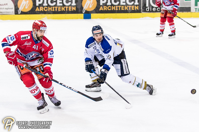 Swiss League Playoff - Viertelfinal - Spiel 1: SC Rapperswil-Jona Lakers - EVZ Academy - 7:0