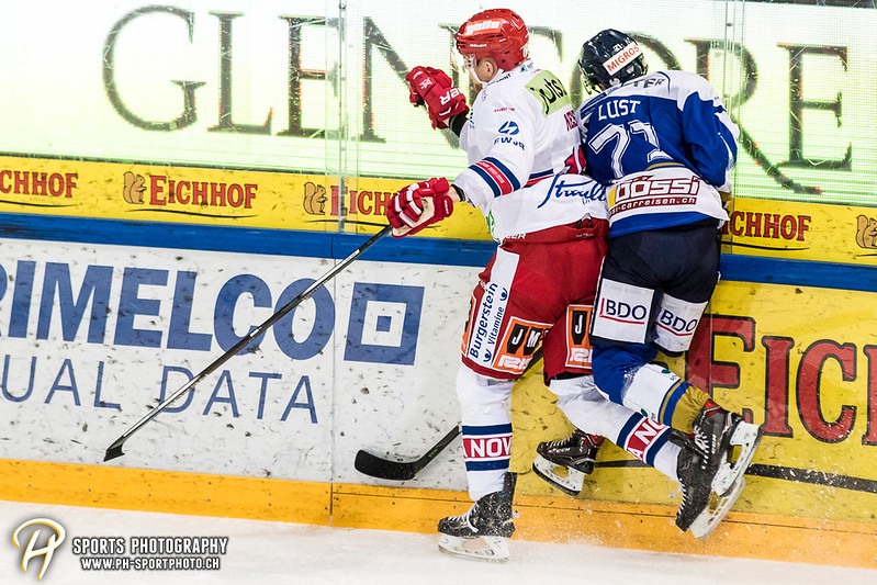 Swiss League Playoffs - Viertelfinal - Spiel 2: EVZ Academy - SC Rapperswil-Jona Lakers - 1:6
