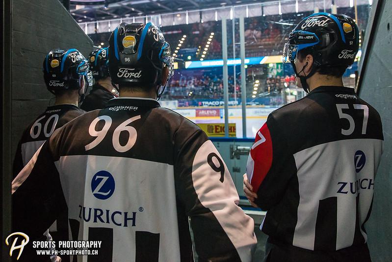 Swiss League - Viertelfinal - Spiel 4: EVZ Academy - SC Rapperswil-Jona Lakers - 1:2 OT