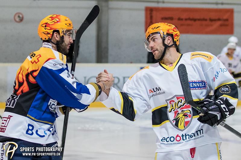 Swiss League: EVZ Academy - HC Ajoie - 3:5 - Bild-ID: 201709150192