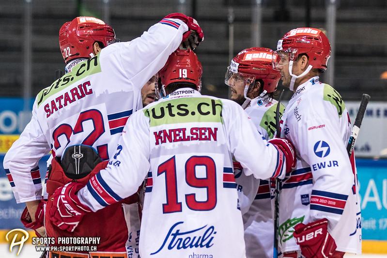 Swiss League: EVZ Academy - SC Rapperswil-Jona Lakers - 2:5