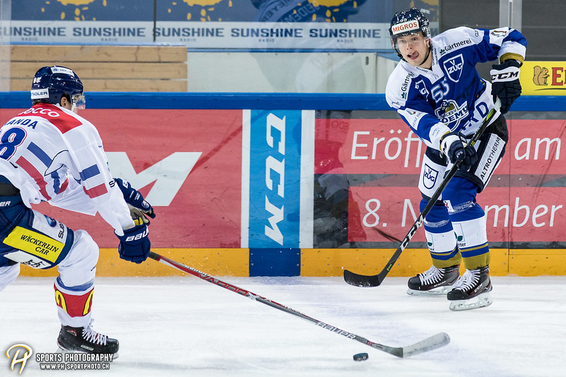 Swiss League: EVZ Academy - GCK Lions - 6:3