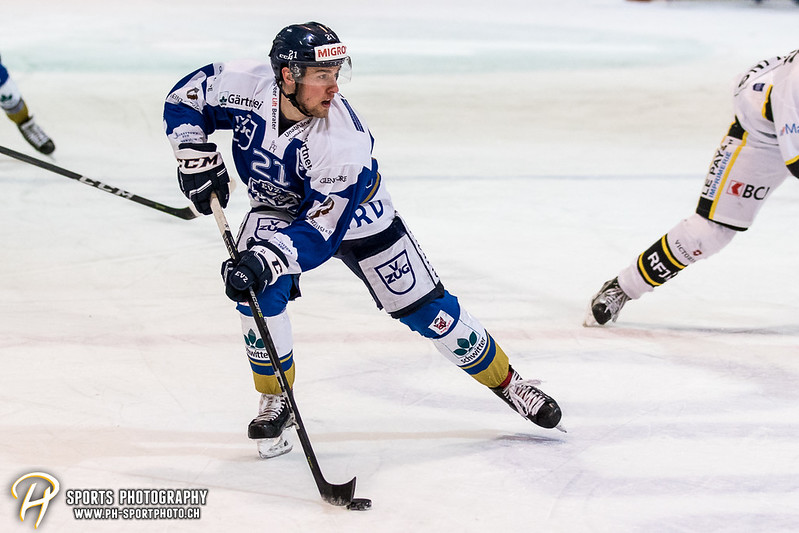 Swiss League: EVZ Academy - HC Ajoie - 5:4 OT