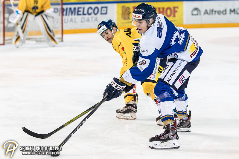 Swiss League: EVZ Academy - SC Langenthal - 2:5