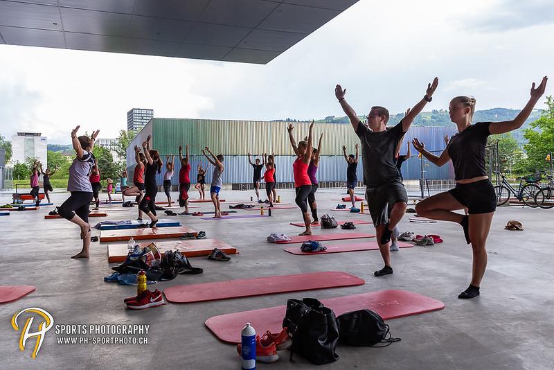 Fit4Zug - Bodybalance mit Fitnesspark Zug - organisiert vom EV Zug