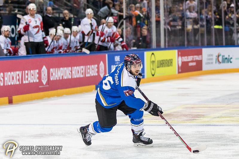 Champions Hockey League: EV Zug - JYP Jyväskylä - 6:3 - Bild-ID: 201709020630