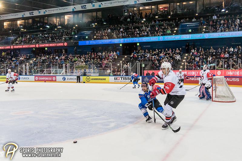 Champions Hockey League: EV Zug - JYP Jyväskylä - 6:3 - Bild-ID: 201709020677
