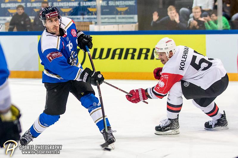 Champions Hockey League: EV Zug - JYP Jyväskylä - 6:3 - Bild-ID: 201709021037
