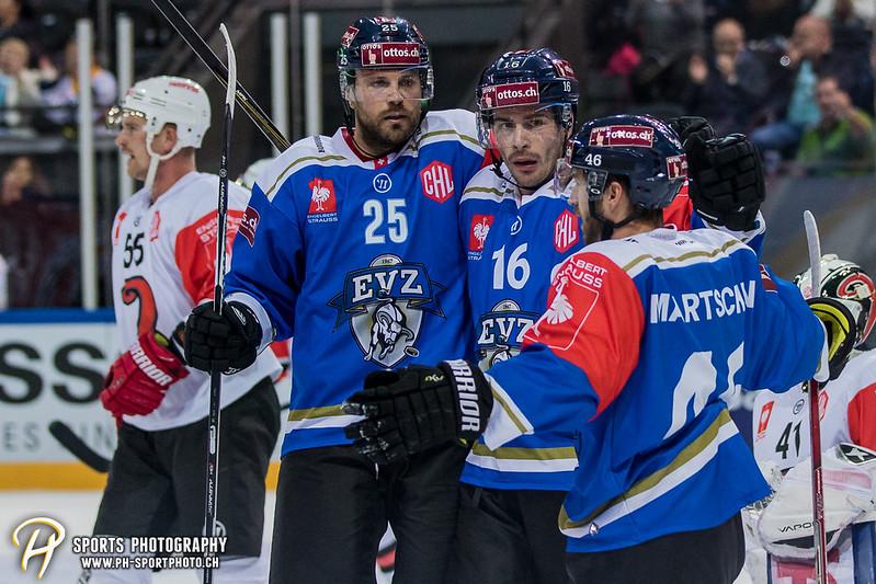Champions Hockey League: EV Zug - JYP Jyväskylä - 6:3 - Bild-ID: 201709021047