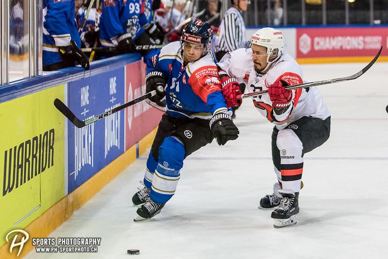 Champions Hockey League: EV Zug - JYP Jyväskylä - 6:3 - Bild-ID: 201709020921