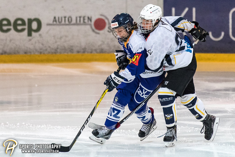 EVZ-Volksfest Vorbereitungsspiel: EVZ Novizen Elite - HC La Chaux-de-Fonds - 3:1 - Bild-ID: 201709010061