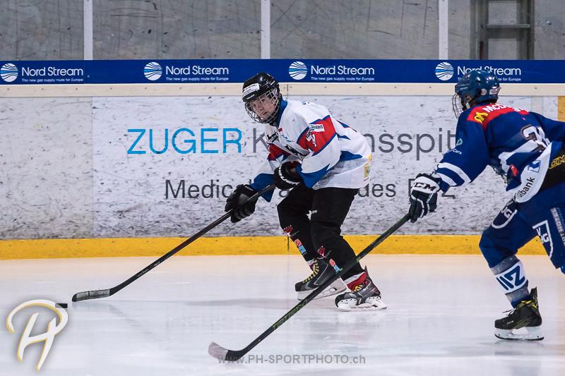 Novizen A: EV Zug - HC Wohlen Freiamt - 7:2
