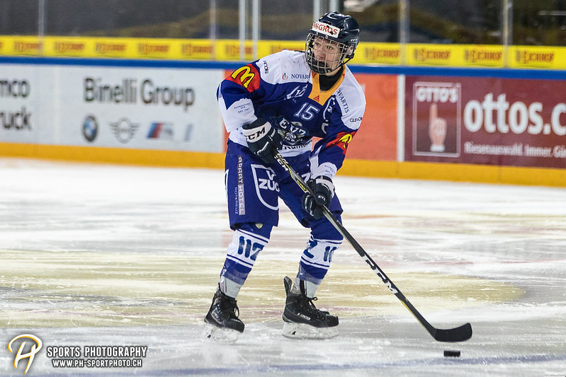 Novizen Elite Junioren: EV Zug - SC Rapperswil-Jona Lakers - 8:2