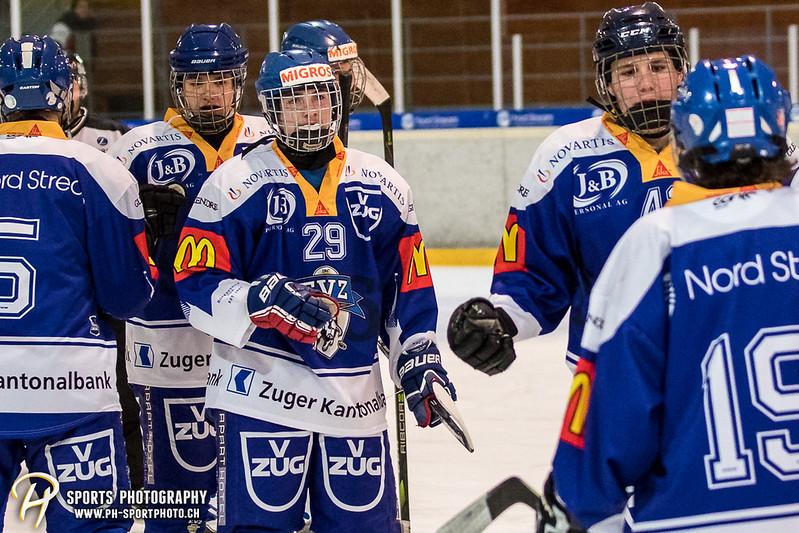 Junioren A: EV Zug - HC Innerschwyz Future - 5:6 SO
