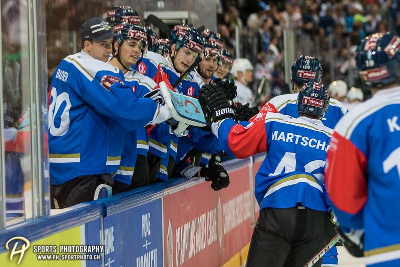 Champions Hockey League: EV Zug - JYP Jyväskylä - 6:3 - Bild-ID: 201709021081