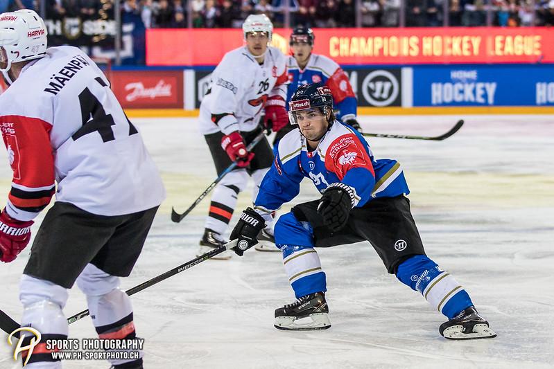 Champions Hockey League: EV Zug - JYP Jyväskylä - 6:3 - Bild-ID: 201709020691