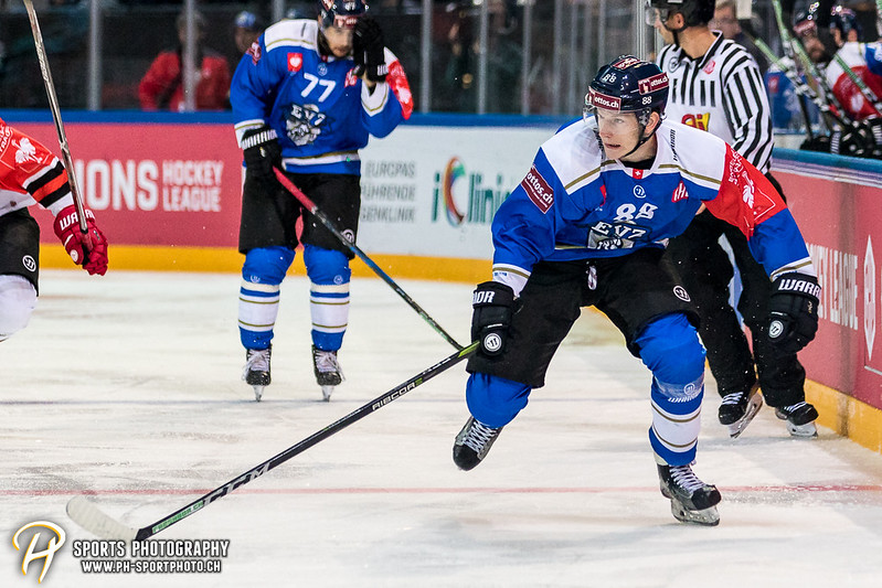 Champions Hockey League: EV Zug - JYP Jyväskylä - 6:3 - Bild-ID: 201709020662