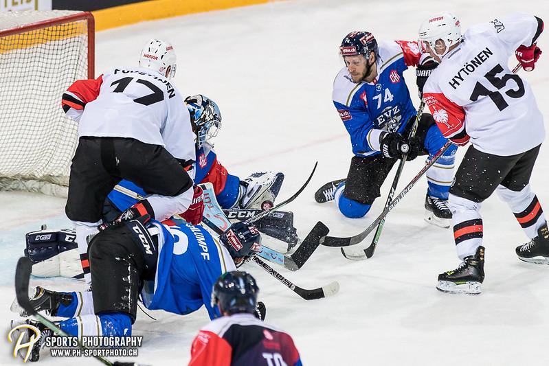 Champions Hockey League: EV Zug - JYP Jyväskylä - 6:3 - Bild-ID: 201709020635