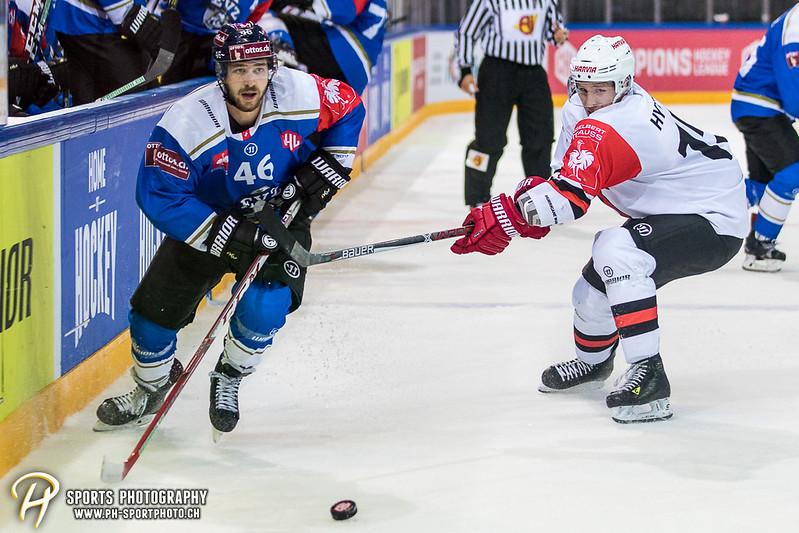 Champions Hockey League: EV Zug - JYP Jyväskylä - 6:3 - Bild-ID: 201709021031