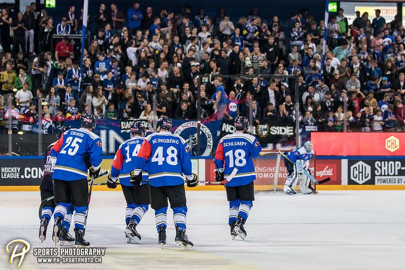 Champions Hockey League: EV Zug - JYP Jyväskylä - 6:3 - Bild-ID: 201709020893